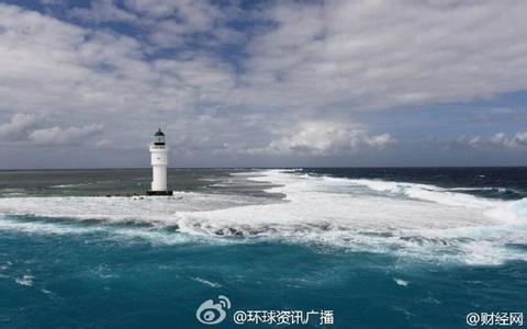 我国南海岛礁建5座大型灯塔已亮4座视频照片,南海灯塔