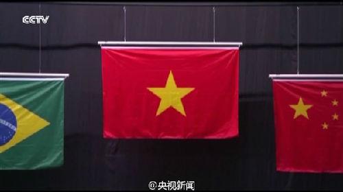 里约奥运会中国国旗哪里出错了谁的责任,中国国旗上有几个五角星图片