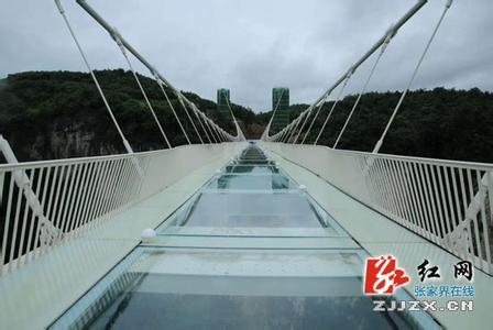 张家界玻璃桥暂停开放原因怎么回事,大峡谷玻璃桥照片图片