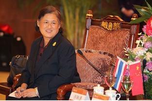 泰国公主诗琳通年轻时照片长什么样