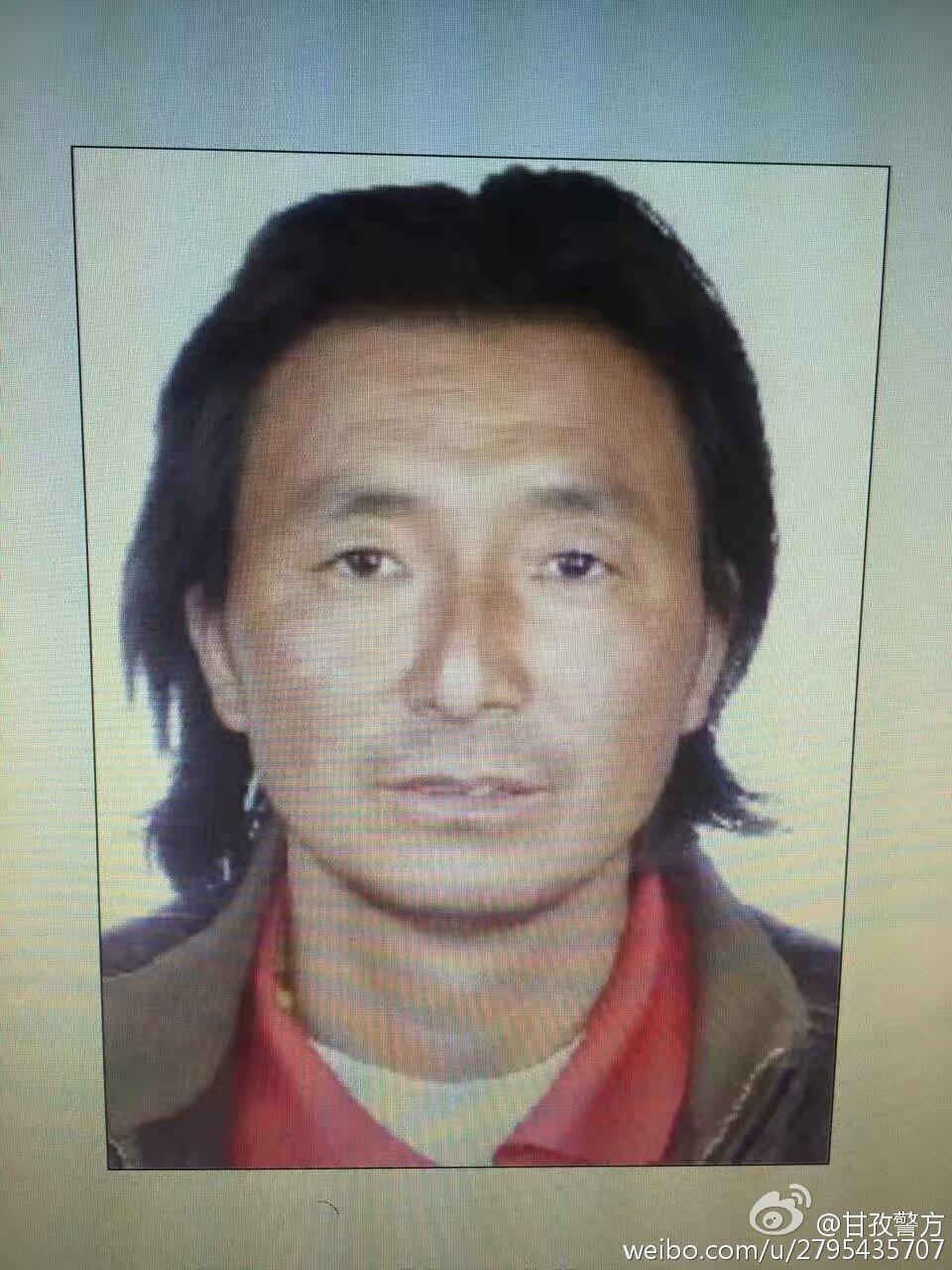 西藏警察遭枪击牺牲原因凶手是谁现场图,持枪杀人案嫌疑人照片