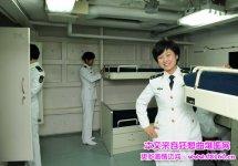 辽宁舰航母女宿舍曝光,海军城辽宁舰的女舰员,辽宁舰上的新疆姑娘
