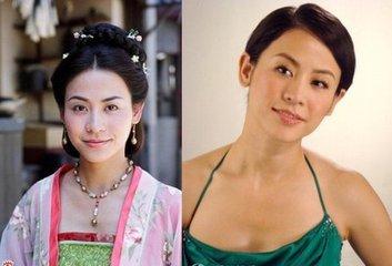 宣萱和叶璇长得很像对比图 宣萱结婚了吗现任老公是谁图片