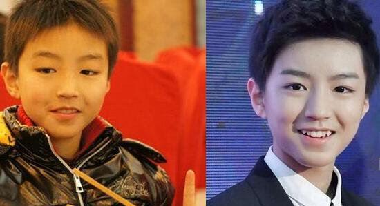 tfboys王俊凯整容前后照片对比,王俊凯化妆前后的对比素颜照