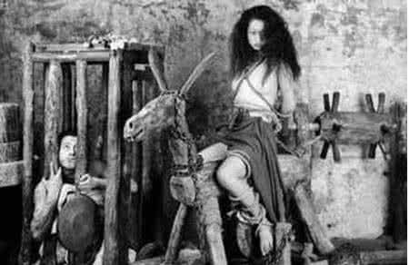 古代十大刑法妇刑图,古代女子肛门刑法图(2)