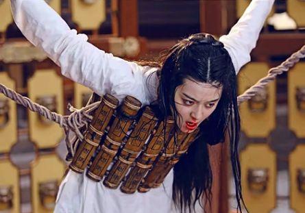 古代女子肛门刑法全过程图解 女人宫刑胸部穿洞下体撕烂大图慎点