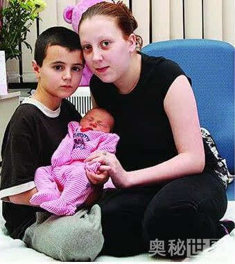 世界上最年轻的父母_世界上最年轻的父母,父13岁,母12岁 图