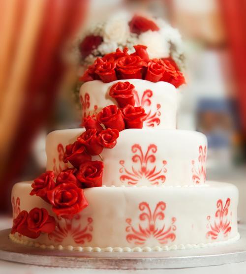 而一场完美的婚礼当中怎么能缺少一款漂亮的蛋糕?