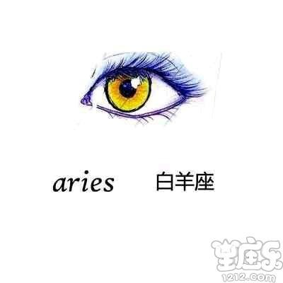 十二星座代表的动漫眼睛手绘图片,十二星座的眼睛类型图解