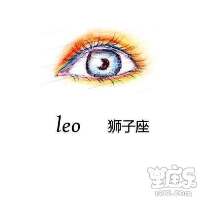 十二星座代表的动漫眼睛手绘图片,十二星座的眼睛类型