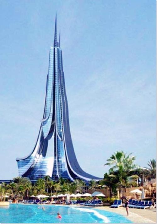挥金如土的迪拜十大丧心病狂的趣味建筑,迪拜著名十大建筑物图片