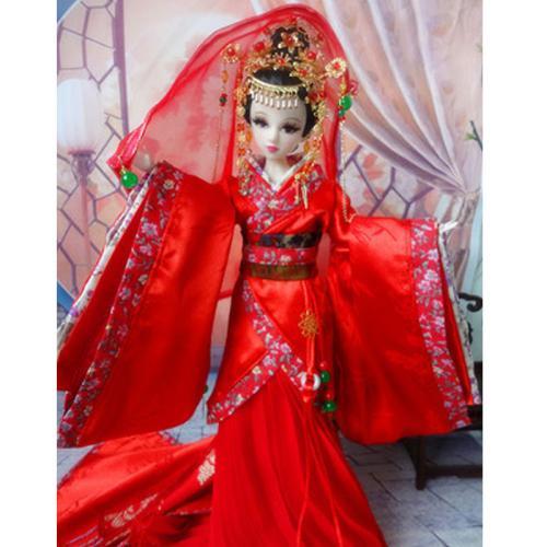 十二星座代表的古装芭比娃娃,十二星座古代芭比娃娃图片大全