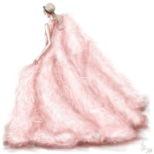 十二星座婚紗禮服設計圖,專屬十二星座婚紗禮服唯美圖片