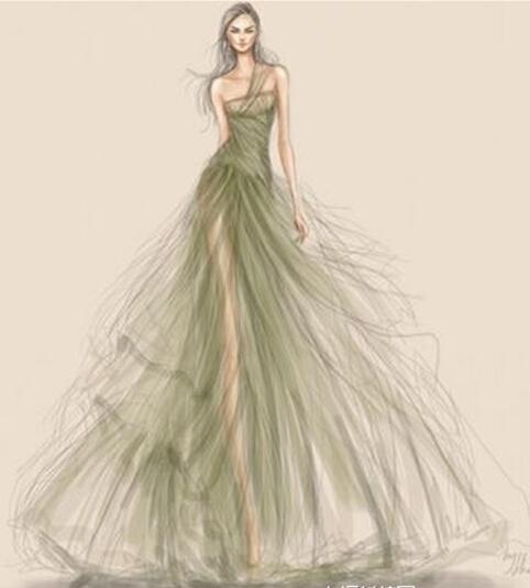 十二星座婚紗禮服設計圖,專屬十二星座婚紗禮服唯美圖片(2)