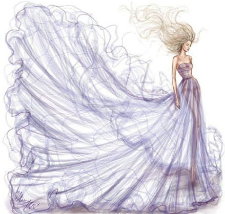 十二星座婚纱礼服设计图,专属十二星座婚纱礼服唯美图片