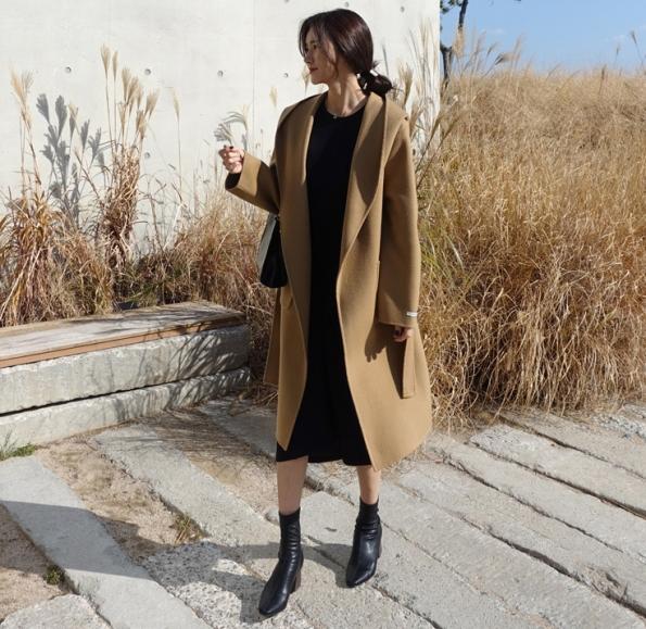 驼色大衣搭配什么鞋子好看搭配图片 既要优雅也要时髦