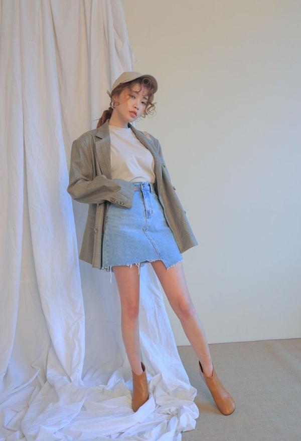 秋天穿牛仔裙配什么鞋子好看搭配图片 选这几双鞋最合适
