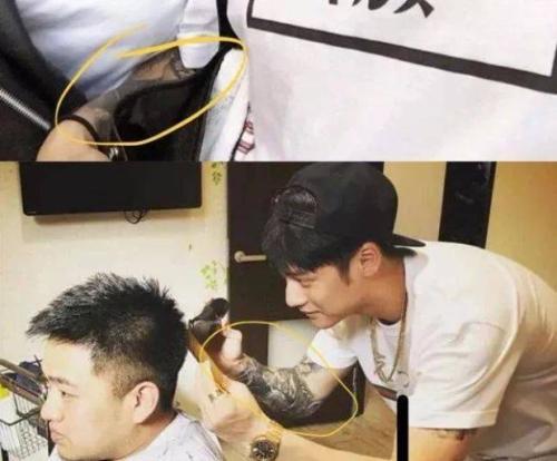 蒋劲夫有几个纹身手臂和小腿纹的是什么?蒋劲夫身上的纹身图案