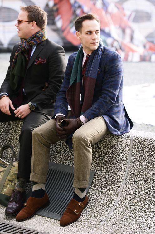 男士冬天穿西装怎么搭配里面穿什么 冬日型男穿搭指南
