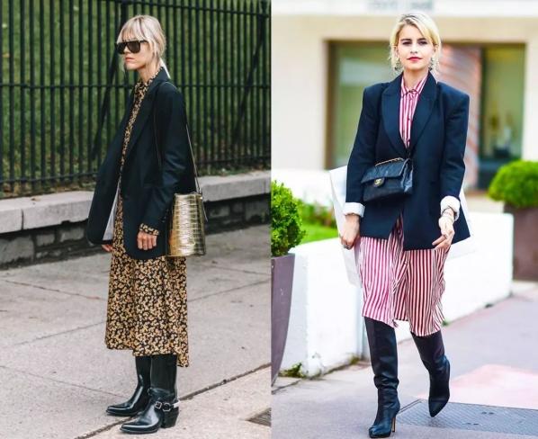 女生冬天西装怎么搭配衣服穿什么鞋 西装这样穿时髦又好看