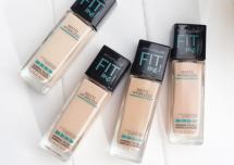 fitme粉底液112和115怎么选色 美宝莲粉底液fitme适合干皮吗