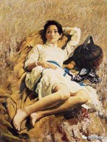 周迅年轻时少女模特油画像欣赏 周迅是怎么红的揭感情经历图解