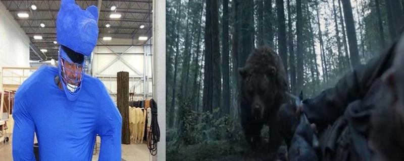 荒野猎人熊是不是特效