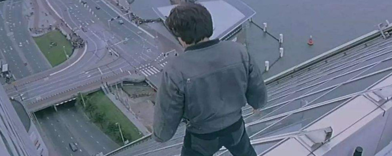 我是谁成龙跳大楼有安全措施吗