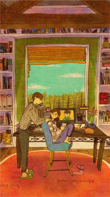 内向女生暗恋或喜欢一个人的表现 慢热害羞内向女生喜欢你的细节