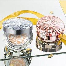 爱敬钻石气垫和三色拉花哪个好用 爱敬白盒13和21试色哪个更白