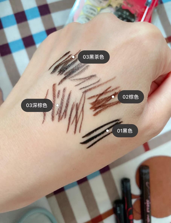 kissme眼线棕色好还是黑色色号推荐 kissme眼线笔日版和国产区别