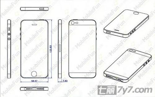苹果6耳机设计图